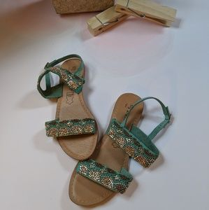 Atmosphere Leather Sandals